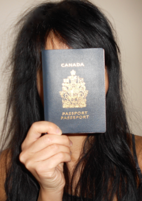 Beadhead and my Canadian passport