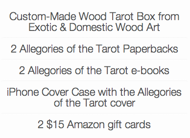 allegories prizes