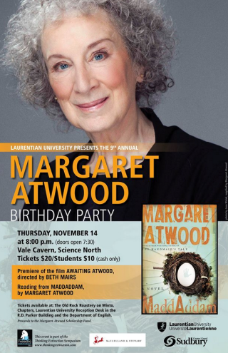 Attend the Premiere Screenings of AWAITING ATWOOD ~ a film