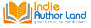 indie author land button
