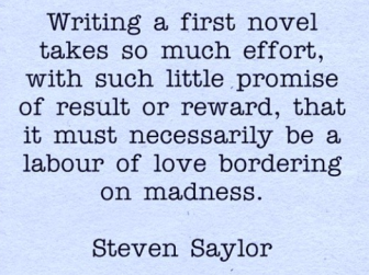 steven saylor quote