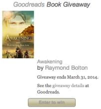 awakening goodreads giveaway