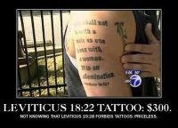 Leviticus tat