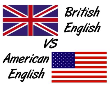 british vs US english