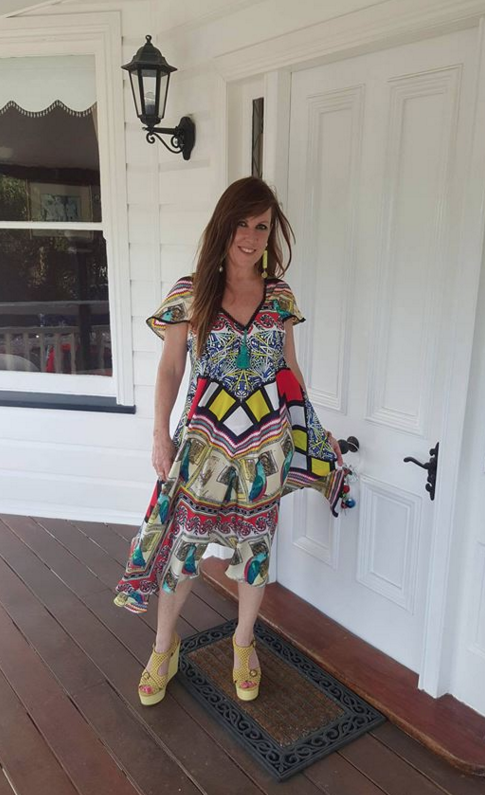 fiona colourful dress 1
