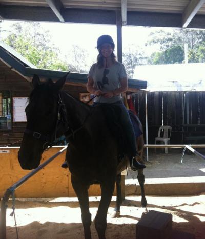 fiona horseback