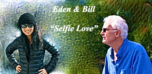 eden and bill selfie love